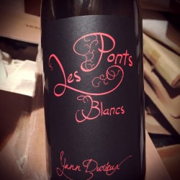 Yann Durieux Vin de France Les Ponts Blancs 2013