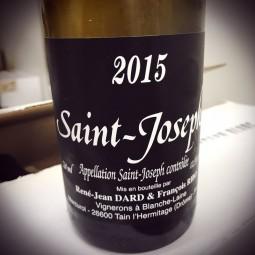 Dard Ribo Saint Joseph blanc 2015