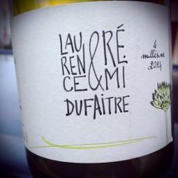 Laurence & Rémi Dufaitre Beaujolais-Villages blanc 2014