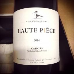 Parlange & Illouz Cahors La Haute Pièce 2014
