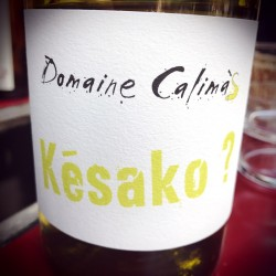 Domaine Calimas Vin de France blanc Késako 2015