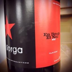 La Sorga Vin de France En Rouge et Noir 2013