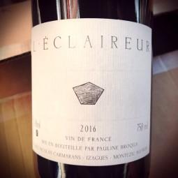 Pauline Broqua Vin de France rouge L'Eclaireur 2016