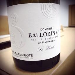 Domaine Ballorin Bourgogne Aligoté Le Hardi 2014