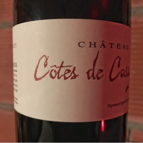 Château Côtes de Cassagne Bordeaux Supérieur 2015