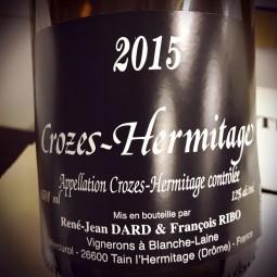 Dard Ribo Crozes-Hermitage blanc 2015 Magnum