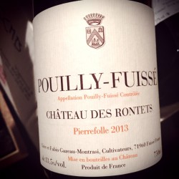Château des Rontets Pouilly-Fuissé Pierrefolle 2013