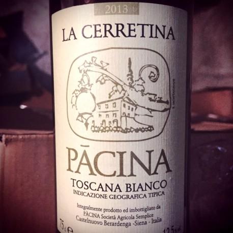 Azienda Pacina Toscana bianco Cerettina 2013