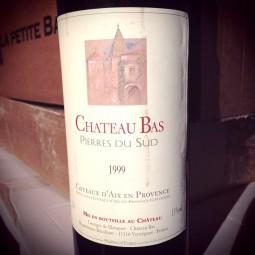 Château Bas Coteaux d'Aix en Provence Pierre du Sud 1999