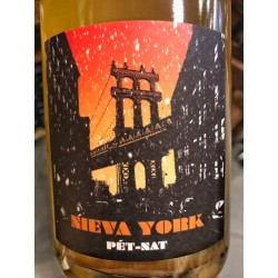 Ismael Gozalo/Microbio Wines Pet Nat Nieva York 2016