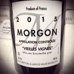 Domaine Guy Breton Morgon Vieilles Vignes 2015 Magnum