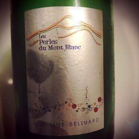 Domaine Belluard Vin de Savoie mousseux Méthode Traditionnelle Ayse Perles du Mont Blanc 2014