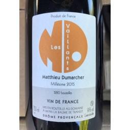 Matthieu Dumarcher Côtes du Rhône Les Vaillants 2015