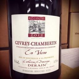 Domaine Derain Gevrey-Chambertin En Vosne 2012 Magnum