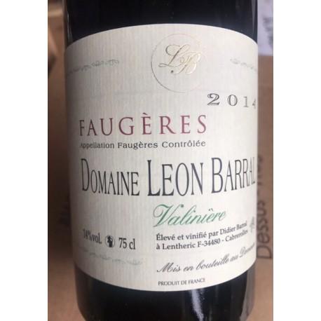 Domaine Léon Barral Faugères Valinière 2014