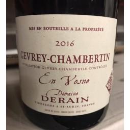Domaine Derain Gevrey-Chambertin En Vosne 2016