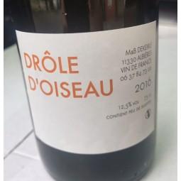 M&B Dekeirle Vin de France blanc Drôle d'Oiseau 2016