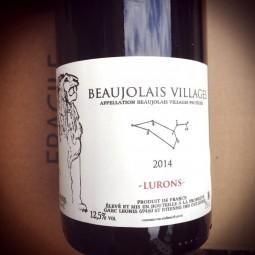 Domaine Léonis (R. Champier) Beaujolais Lurons 2014