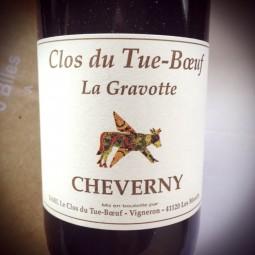 Clos du Tue Bœuf Cheverny Gravotte 2011