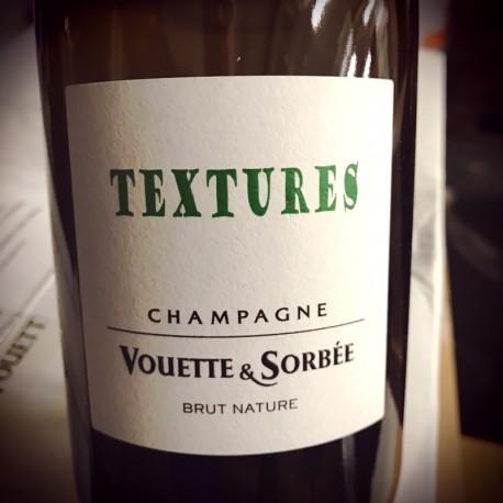Domaine Vouette & Sorbée Champagne Brut Nature Textures (d. 2018)
