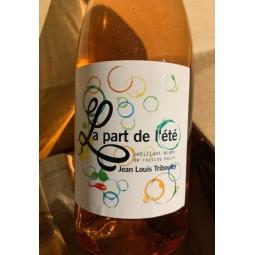 Jean-Louis Tribouley Vin de France Pét-nat rosé La Part de l'Eté 2017