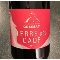 Domaine de Gressac IGP Pays du Gard Terre del Cade 2017