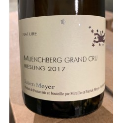 Domaine Julien Meyer Alsace Riesling Grand Cru Muenchberg 2017
