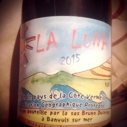 Bruno Duchène Vin de Pays de la Côte Vermeille La Luna 2015 Magnum