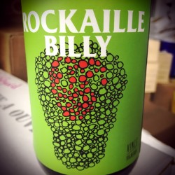 No Control Vin de France rouge Rockaille Billy 2015