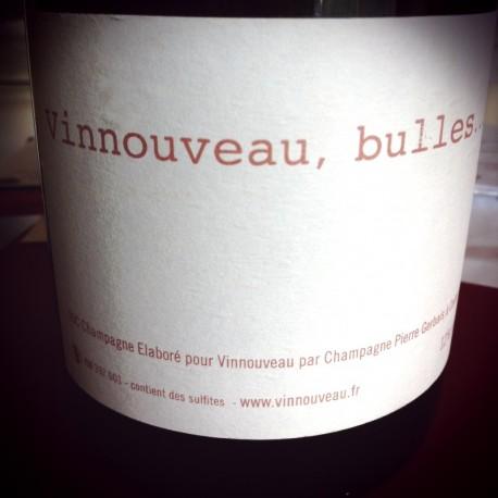Pierre Gerbais pour Vinnouveau Champagne Brut Cuvée de Réserve Vinnouveau, Bulles...