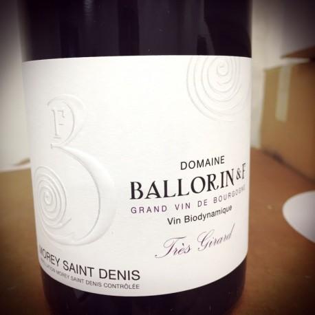 Domaine Ballorin & F Morey Saint Denis Tres Girard 2015