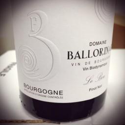 Domaine Ballorin & F Bourgogne rouge Le Bon 2014