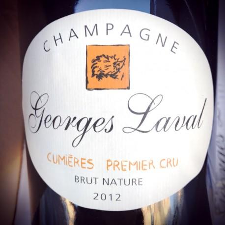 Georges Laval Champagne 1er Cru Cumières Brut Nature 2012 Magnum