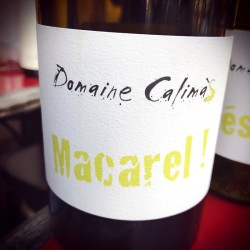 Domaine Calimas Vin de France blanc Macarel 2015