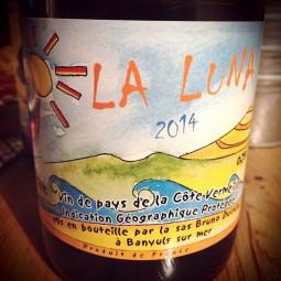Bruno Duchène Vin de Pays de la Côte Vermeille La Luna 2014