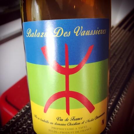 Balazu des Vaussières Vin de France blanc Vin Libre 2015