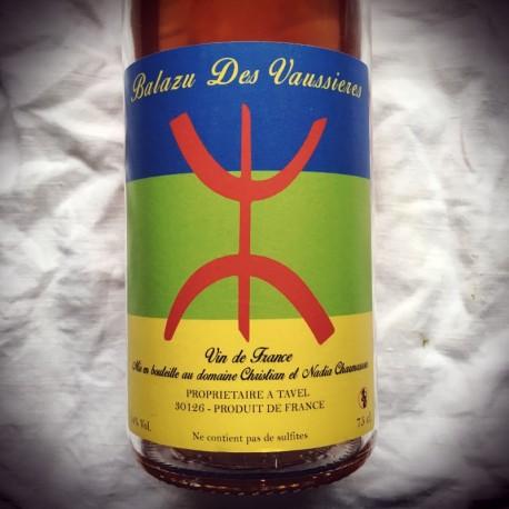 Balazu des Vaussières Vin de France rosé Sept Syllabes 2015
