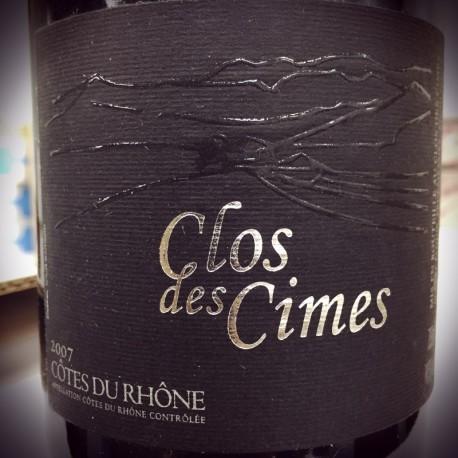 Clos des Cimes Côtes du Rhône Le Clos des Cimes 2007