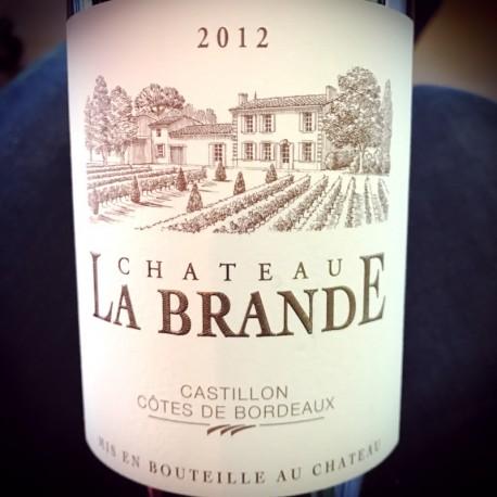 Château La Brande Côtes de Castillon 2012