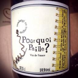 Pierre Beauger Vin de France blanc Pourquoi Paille?