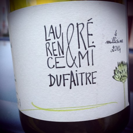 Laurence & Rémi Dufaitre Beaujolais-Villages blanc 2014
