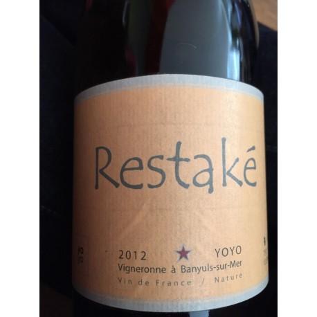 Yoyo Vin de France blanc Restaké 2012