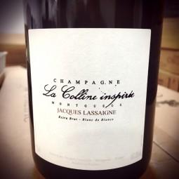 Jacques Lassaigne Champagne Extra Brut Blanc de Blancs La Colline Inspirée