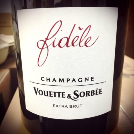 Domaine Vouette et Sorbée Champagne Brut Blanc de Noirs Fidèle Magnum