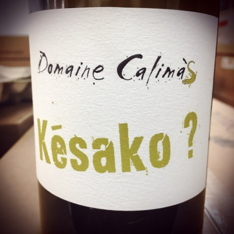 Domaine Calimas Vin de France blanc Késako 2014