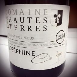 Domaine des Hautes Terres Crémant de Limoux Cuvée Joséphine 2016
