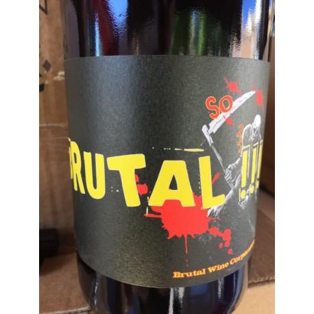 Domaine Bories Jefferies Vin de France rouge Brutal 2014