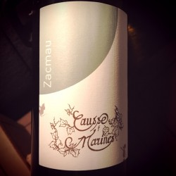 Domaine de Causse Marines Vin de France Zacmau 2014
