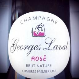 Georges Laval Champagne 1er Cru Cumières Brut Rosé 2014