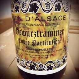 Domaine Schueller Alsace Gewurtztraminer Cuvée Particulière 2017